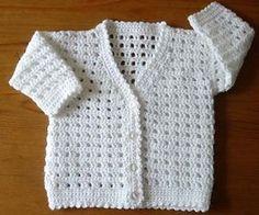 Babies Cardigan pattern by Kay Jones häkeln , Babies Cardigan pattern by Kay Jones Ravelry: Babies Cardigan von Kay Jones Crochet. Baby Knitting Patterns, Crochet Baby Sweater Pattern, Knitting Baby Girl, Crochet Baby Sweaters, Baby Sweater Patterns, Crochet Cardigan Pattern, Crochet Baby Clothes, Crochet Jacket, Crochet Patterns