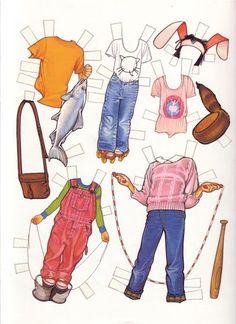 종이인형 (cutting up with ramona) : 네이버 블로그 Henry Huggins, Paper Toys, Paper Crafts, Paper Dolls Printable, Barbie, Cut Up, Fabric Beads, Vintage Paper Dolls, Doll Maker