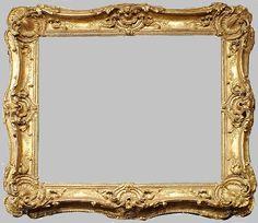 Faste et décadence du cadre en bois doré