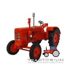 Mo Miniatur Fahr D400 Traktor 1/32