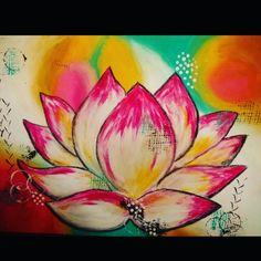 12 best lotus flower paintings images on pinterest lotus flower lotus flower abstract mightylinksfo