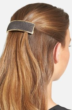The Finest Accessories Rectangle Volume Hair Barrette wFE7k1