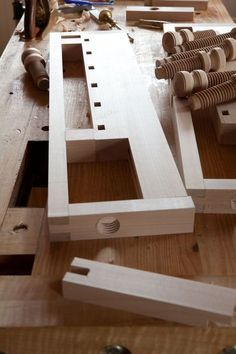 """Several years ago during a breakfast with some woodworkers, I floated the idea of a workbench for the woodworker without a shop. In essence, it was going to be like the Hammacher Schlemmer """"Gnome B… Essential Woodworking Tools, Beginner Woodworking Projects, Learn Woodworking, Woodworking Videos, Woodworking Crafts, Small Workbench, Portable Workbench, Workbench Plans, Woodworking Workbench"""