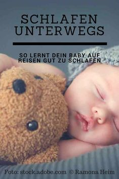 Many parents are not only at home, but especially on trips to the problem that their child just does not want to fall asleep. Children are . Breastfeeding Techniques, How To Fall Asleep, Baby Kids, Parents, Dads, Teddy Bear, Children, Trips, Babies