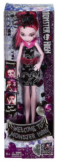 Amazon Monster High Welcome To Monster High Fangtastic Draculaura Doll by Monster High $3.40 FS with Prime #LavaHot http://www.lavahotdeals.com/us/cheap/amazon-monster-high-monster-high-fangtastic-draculaura-doll/148837?utm_source=pinterest&utm_medium=rss&utm_campaign=at_lavahotdealsus