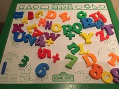 Sesame Street  magnetic board by tootsie toy 4737 by HollyWouldFind on Etsy