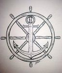 Wheel and Anchor by ~SynisterArtDesign on deviantART