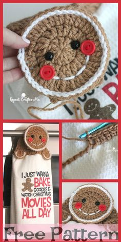 These kind of DIY tips are incredibly very easy to make check out for more häkeln 6 DIY hacks Crochet Handtücher Crochet Towel Holders, Crochet Dish Towels, Crochet Towel Topper, Crochet Kitchen Towels, Crochet Dishcloths, Christmas Towels, Crochet Christmas Ornaments, Holiday Crochet, Free Christmas Crochet Patterns