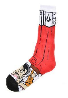 Volcom Socks - Los Volcomes Socks  12.95€