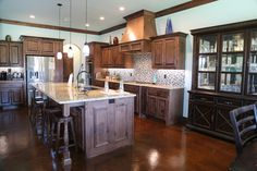 The Jones Residence in Oklahoma City Oklahoma City, Kitchen Island, Home Decor, Island Kitchen, Decoration Home, Room Decor, Interior Design, Home Interiors, Interior Decorating