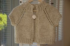 Anthropologie-inspired Chunky Knit Shrug 粗編小外套 - top-down  - free pattern http://www.pinterest.com/source/cafeknitter.blogspot.it/