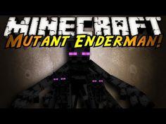 Minecraft Mod Showcase : MUTANT ENDERMAN!