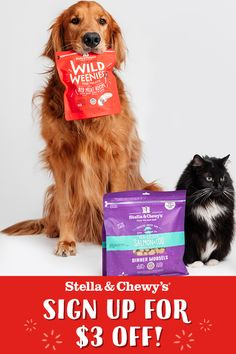 Your pet deserves more of the good stuff!