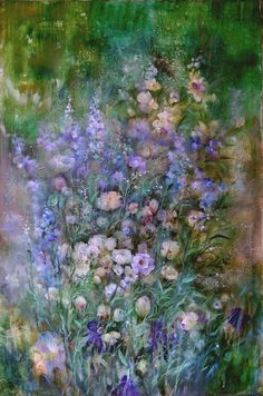 Amazing flower painting by Natalia Rudzina
