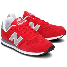 new style cdf04 d4657 NEW BALANCE - New Balance 373 - Sneakersy Damskie - ML373RED