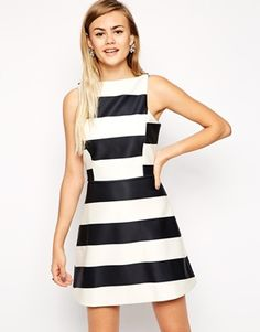I'm SO obsessed with this dress, beyond buzzing that it's back in stock! The perfect masculine:feminine ratio. http://asos.do/tC45eF