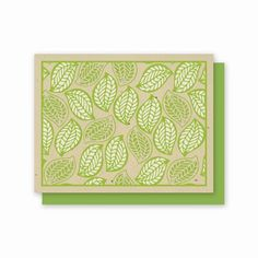 This Leaves design is printed on our Grow a Note Chai Tea paper! $17.99