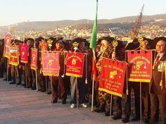 Prima la visita a Gorizia e al suo antico castello, poi la manifestazione con i colleghi giuliani