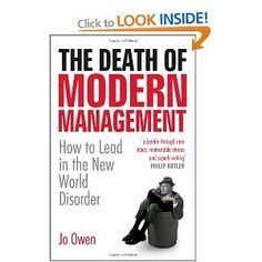 Jo Owen, The Death of Modern Management
