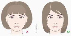 Картинки по запросу стрижки для круглого лица с челкой длинные волосы