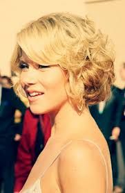Image result for curly hair bob with fringe