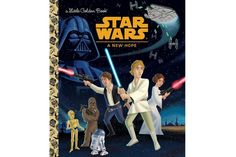 Random House is releasing the Star Wars movies as Little Golden Books