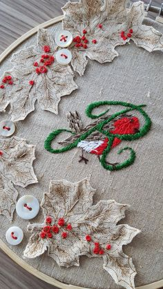 #ecocreatehour good evening #christmas has arrived at @AmandasVintage #vintageChristmas #upcycled #embroidered