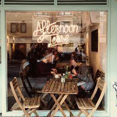 Afternoon Tease - cafe