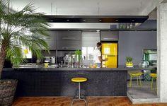 O charme das cozinhas integradas