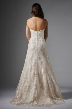 Designer: Wtoo Style: Christy Available at Bliss Bridal in Wisconsin. www.blissbridalonline.com