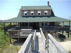 Go back in time with this original Nags Head cottage listed on the National Historic Registry.  Spacious living and dining rooms, kitchen w/butlers ...  And going back in May!