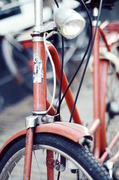 old bike in Amsterdam