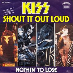 KISS 45 RPM Cover https://www.facebook.com/FromTheWaybackMachine