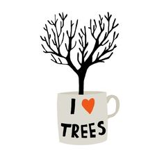 I Love Trees Designed by Amy Blackwell