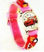 New Cute Cartoon Car 3D Child Watches Cartoon Children Watch Quartz Wrist Watch Christmas Gift