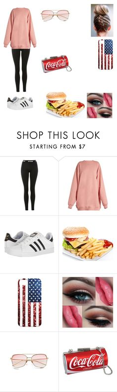 """Lazy Date Outfit"" by tomboy360 ❤ liked on Polyvore featuring Topshop, Acne Studios and adidas"