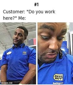 Working Retail and Sales jobs is like: - Imgur