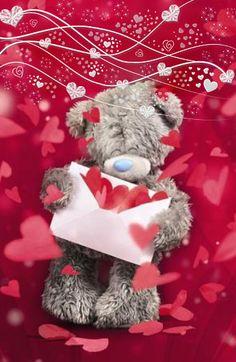 Tatty Teddy Hearts Letter