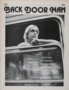 Iggy Pop, Backdoor Man Fanzine, July/August 1977