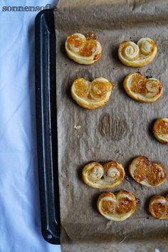 Aprikosen Zimt Schweinsöhrchen -- ultimativ schnell aufgeputzt