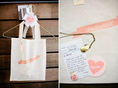 DIY Marvimon Wedding: Angela + Eugene - lovely idea for the bridesmaids