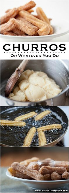 Churros - homemade! In 20(ish) minutes.