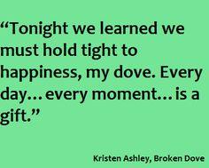 BROKEN DOVE by Kristen Ashley Apollo