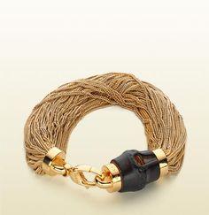 Gucci - bamboo bracelet.