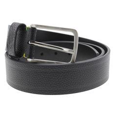 Robert Graham Mens Grass Pebbled Faux Leather Casual Belt