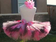 Hello Kitty Tutu and headband only custom sizes by sophiastutus, $38.00