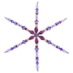 Beaded snowflake http://www.ecrafty.com/casearch.aspx?SearchTerm=snowflake