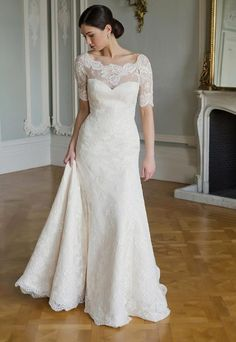 Romantic A-line Wedding Dress by Augusta Jones - Image 1