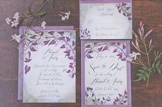 Avalon wedding invit