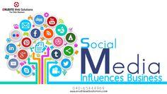 Social Media :- Influences Business more info-> http://www.eruditewebsolutions.com/services.php #SocialMedia #InfluencesBusiness #SearchEngineMarketing #Seoservices